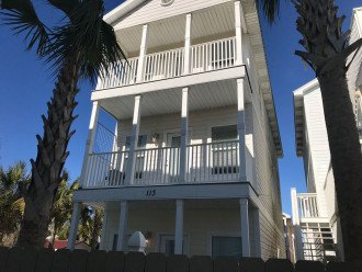 Steps to Beach - Large Beach House with Pool #1