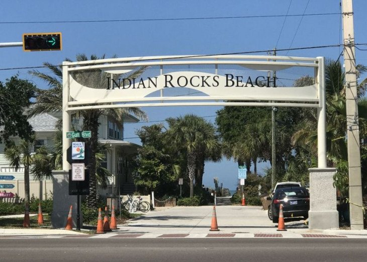 WOW! Indian Rocks Beach Rental, Private Unit, A, Renovated,Short walk to beach. #42