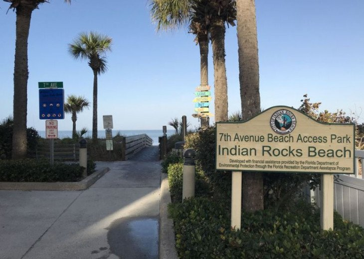 WOW! Indian Rocks Beach Rental, Private Unit, A, Renovated,Short walk to beach. #40