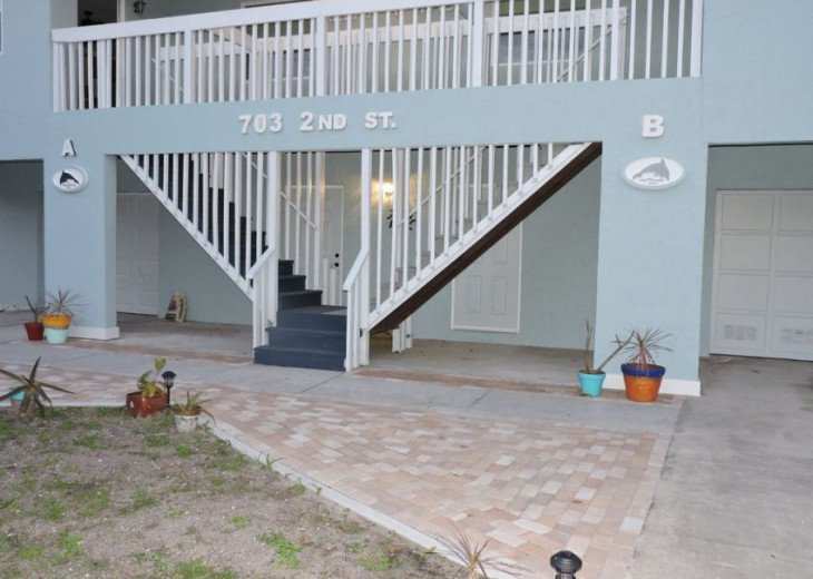 WOW! Indian Rocks Beach Rental, Private Unit, A, Renovated,Short walk to beach. #24