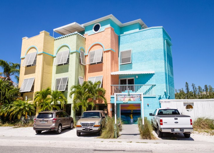 Siesta Sunset Royale beach house $$$ DISCOUNTED RATES $$$ #72