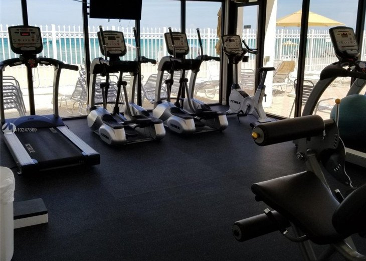 Exercise Room View of Ocean