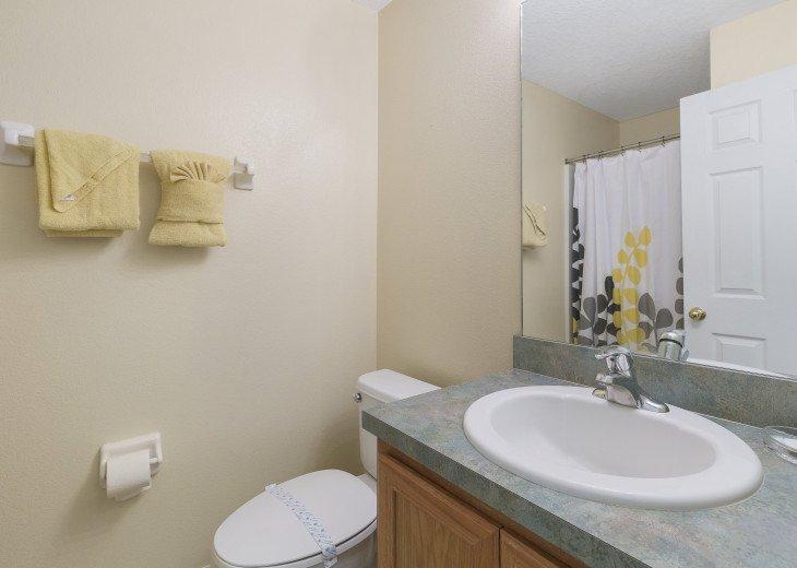 Ground floor shower room, hairdryer