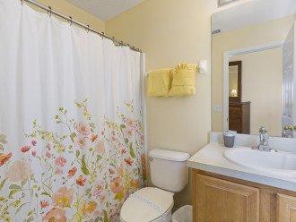 En-suite, shower over th bath, hairdryer