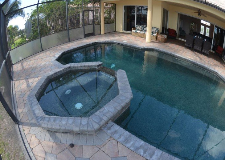 Heated Pool and SPA