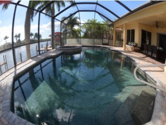 ELECTRIC HEATED LARGE POOL AND SPA