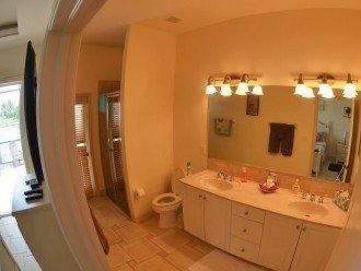 MASTER BATH ROOM # 2 WALK IN SHOWER His and hers VANITIES.