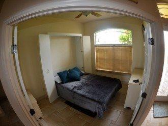 BEDROOM # 4 1 MURPHY QUEEN BED , 22 Inch LCD-TV & Office Desk