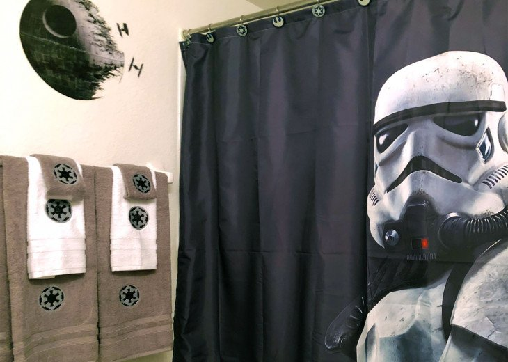 Star Wars Themed Bathroom