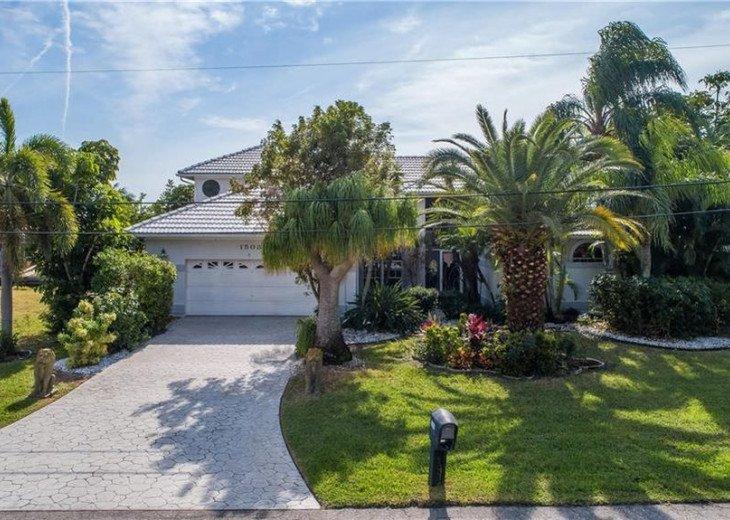 FRONT View 5 B, 4 B Direct Gulf Access Villa GRANDEE