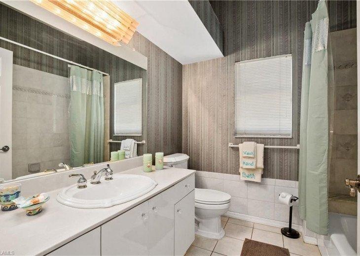 BATHROOM # 2 TUB, SHOWER & VANITIES