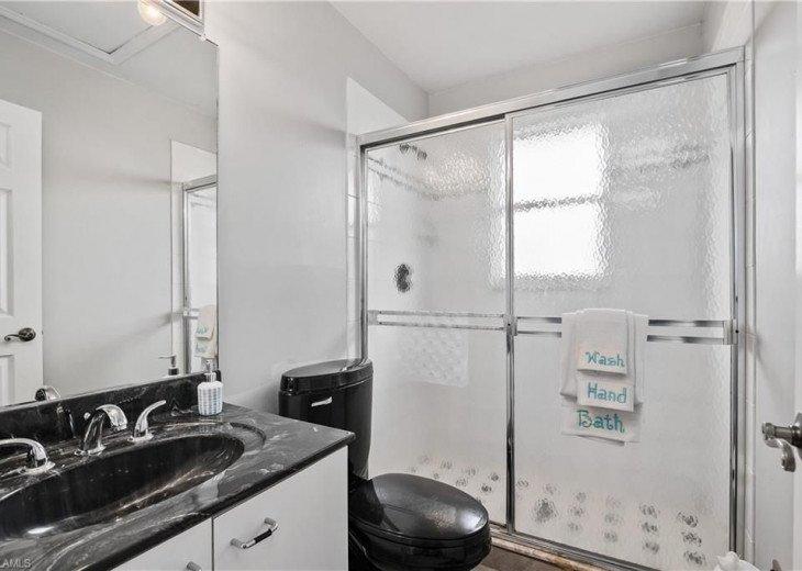 Second Floor: BATHROOM # 3, Walk in Shower & Vanities