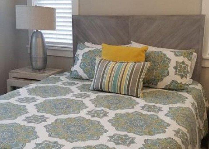 New Queen Bed and Mattress Second Floor Bedrrom