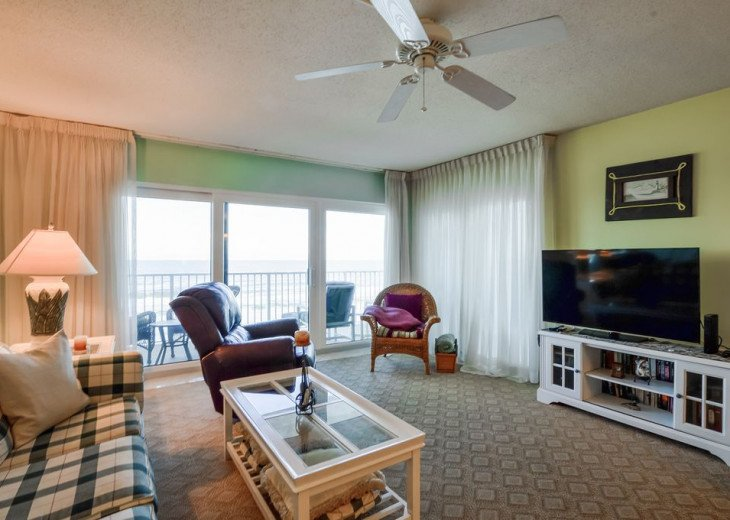Luxury 4th Floor Condo # 41, Spectacular Oceanfront View, New Smyrna Beach #2