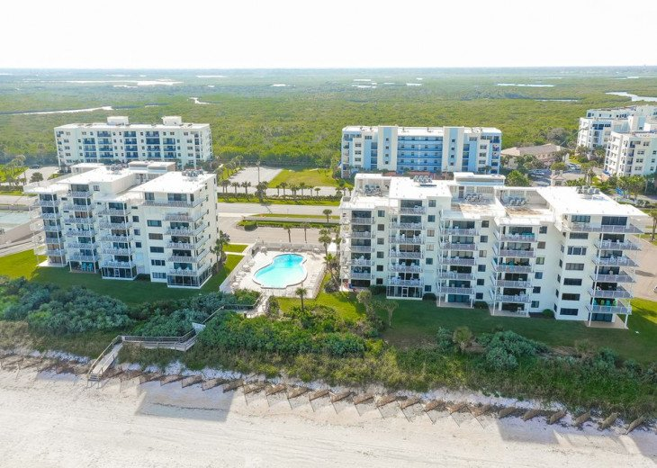 Luxury 4th Floor Condo # 41, Spectacular Oceanfront View, New Smyrna Beach #22