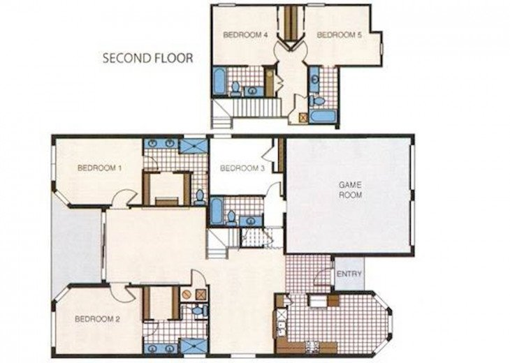 Waldo's in Windsor Hills, 5 bedroom, All EnSuite, Pool/Spa Villa #57
