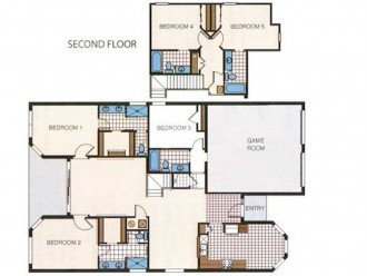 Waldo's in Windsor Hills, 5 bedroom, All EnSuite, Pool/Spa Villa #1