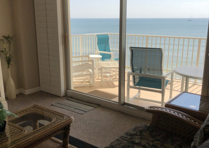 Oceanfront Vacation Rental Condo Ormond Beach #8