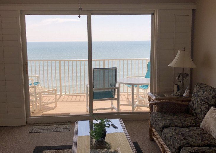 Oceanfront Vacation Rental Condo Ormond Beach #11