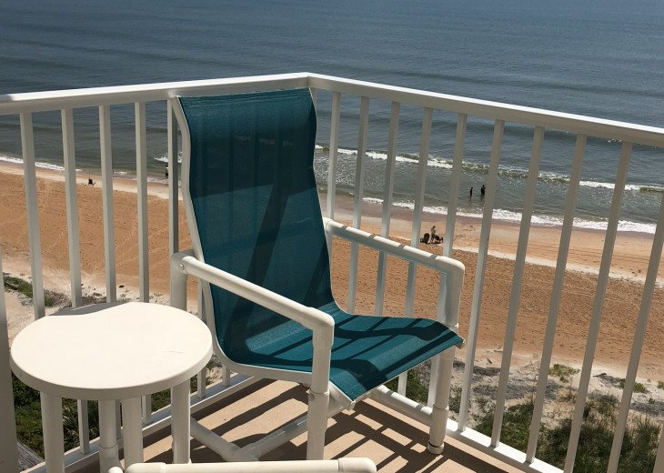 Oceanfront Vacation Rental Condo Ormond Beach #7