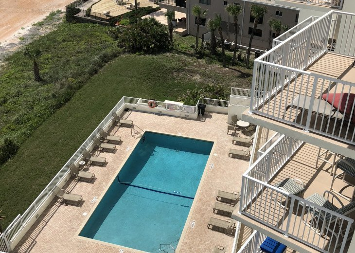 Oceanfront Vacation Rental Condo Ormond Beach #1