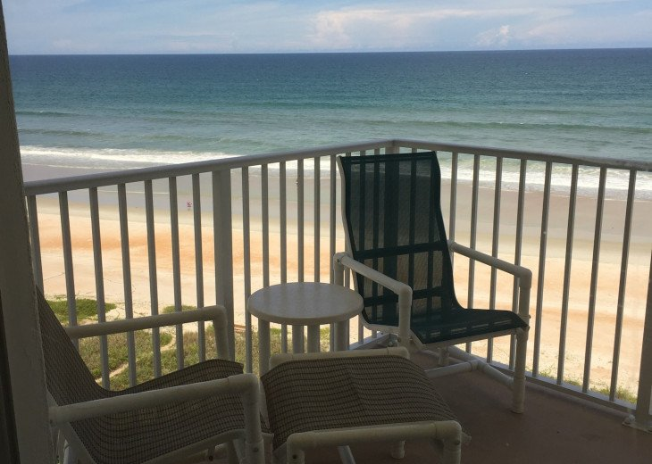 Oceanfront Vacation Rental Condo Ormond Beach #3