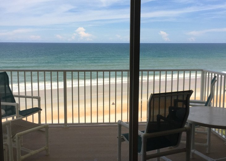 Oceanfront Vacation Rental Condo Ormond Beach #5
