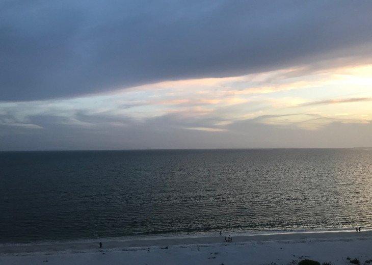 Beach near sunset