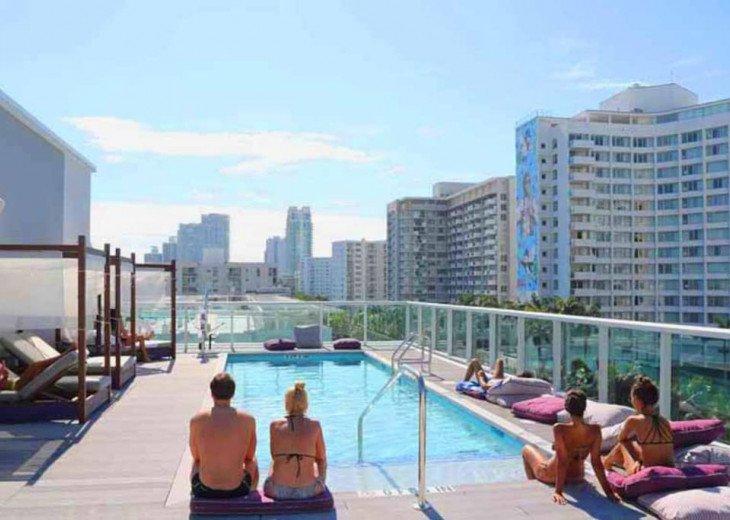 Modern Boutique W/Balcony, Rooftop Pool & Terrace #3