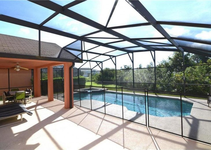 6BR/4BA,South-facing Pool/Spa with Conservation View,BBQ #4