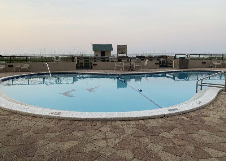Pool (heated) over looking the ocean