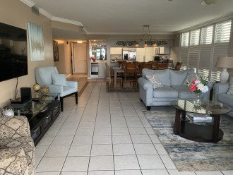 Great Living and Dining areas for the entire family