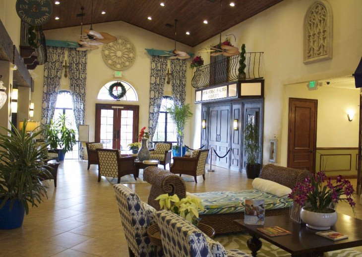 Gated Resort, Spacious Town-home with pool and fancy club Paradise Palms Resort #21