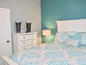 Queen Sized Bedroom located on the main level