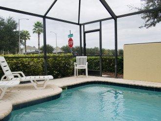 Private splash pool with lanai.