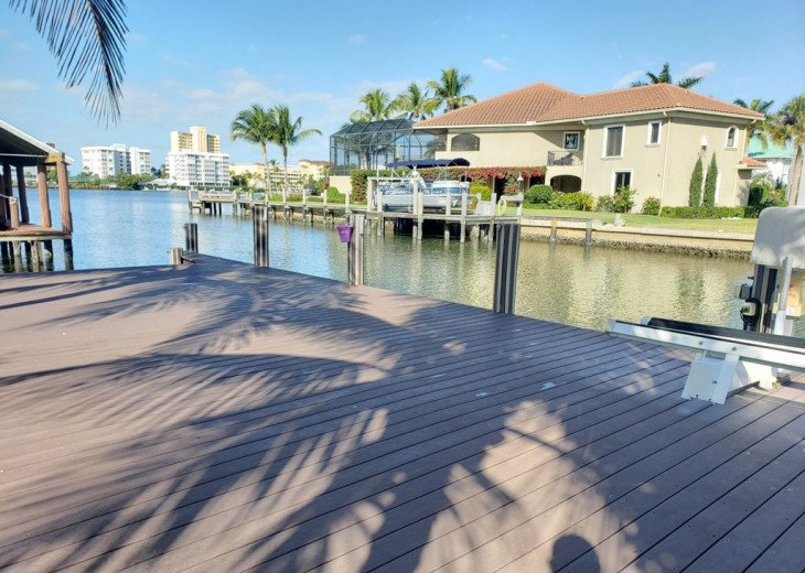 Waterfront escape with boat dock, pool and minutes from the beach. #3