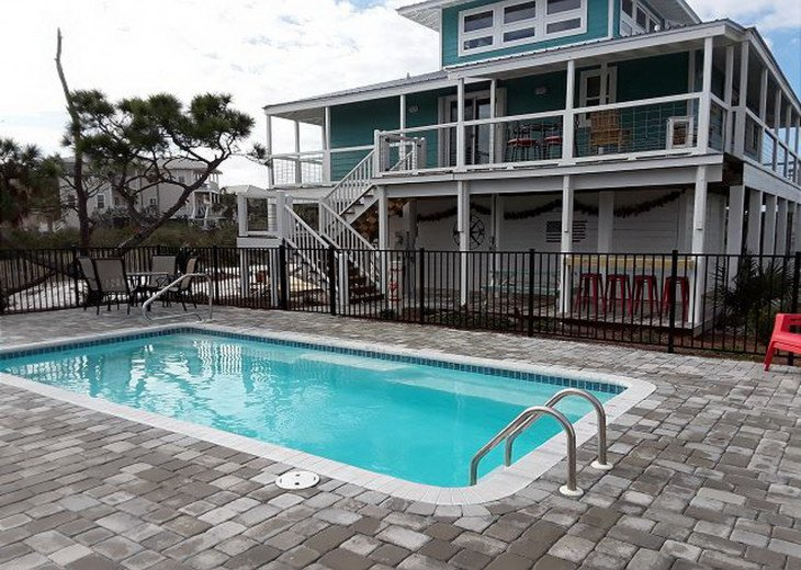 Beach Days - GULF VIEW HOME ON CAPE SAN BLAS WITH A POOL! #9