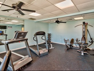 On-site fitness center just steps from your unit