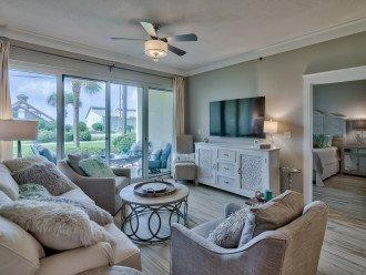 Relax in Luxury! Queen sofa bed in living room