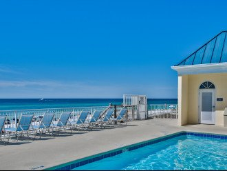 One of your pools located right on your private beach!