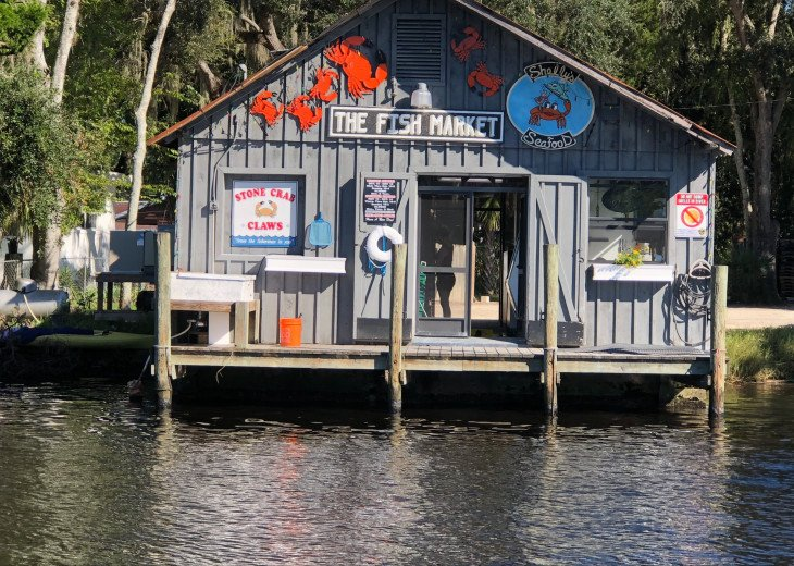 Private HOMosassa, WATERFRONT, 150 ft Seawall, Floating Dock #20