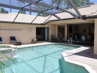 Family Friendly Luxury Courtyard Home with Oversize Saltwater Pool & Spa #1