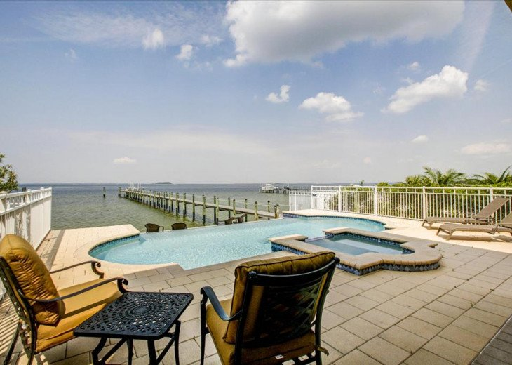 NEW! Lavish Waterfront Home w/ Pool & Shared Dock! #26