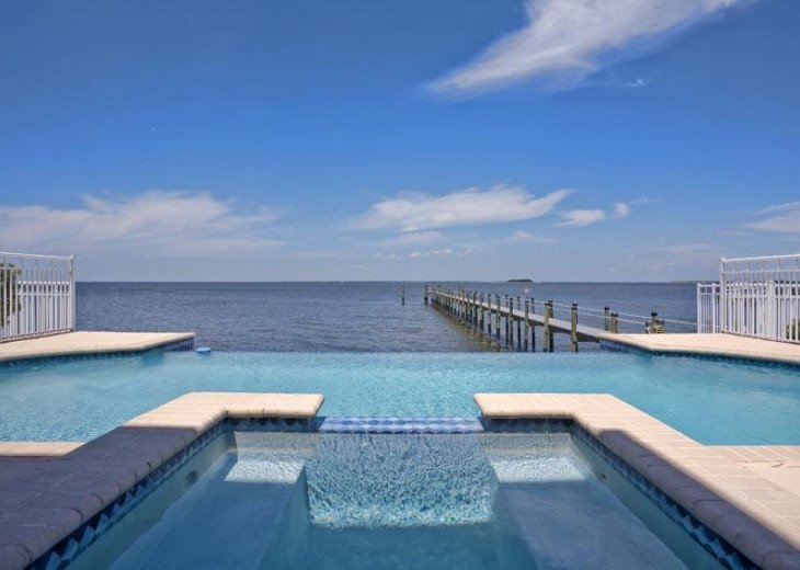 NEW! Lavish Waterfront Home w/ Pool & Shared Dock! #44
