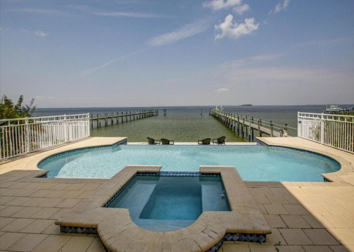 NEW! Lavish Waterfront Home w/ Pool & Shared Dock! #27