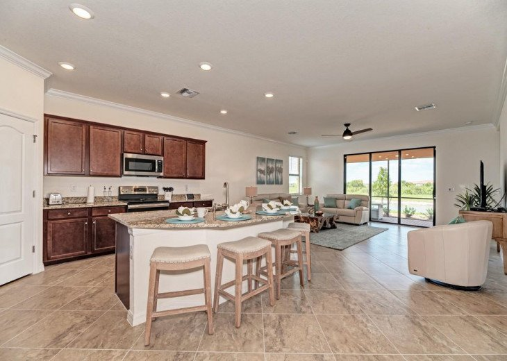 Stunning New Build in Coveted Sarasota National- $3000/mo!! #4