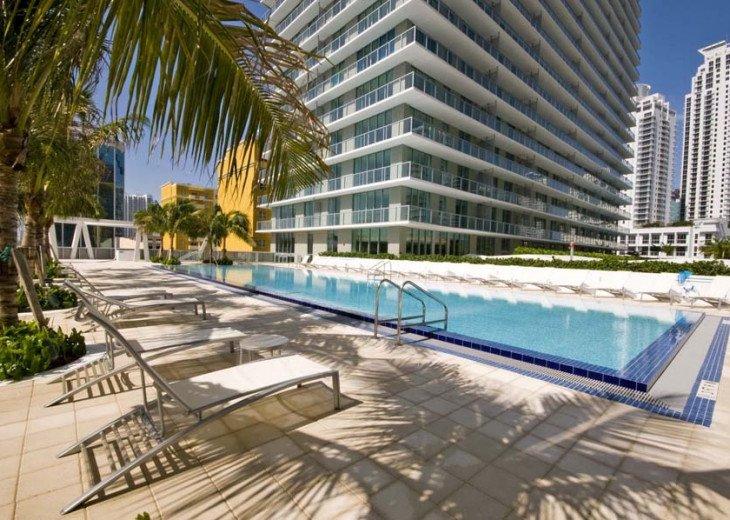 Miami Luxury in Brickell 2BR 2BA, Bay Views #13
