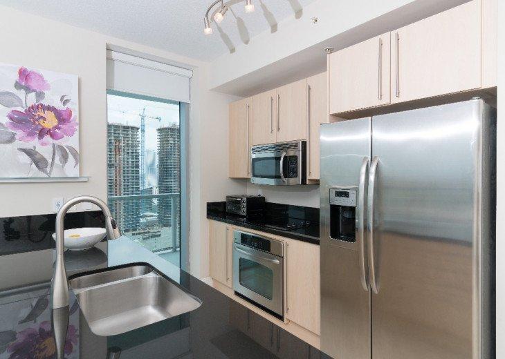 Miami Luxury in Brickell 2BR 2BA, Bay Views #5