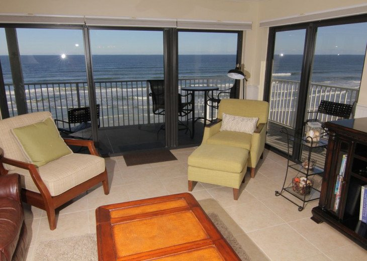 Sunrise Paradise, 2/2 Updated Corner Condo, Oceanfront, No-Drive Beach!. #1