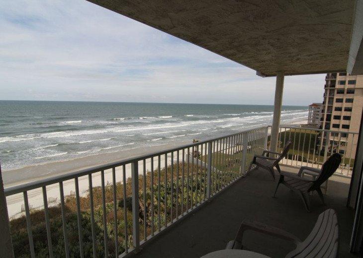 Chic Beach Gem, 6th Floor Oceanfront Corner Condo With a View, No-Drive Beach #2